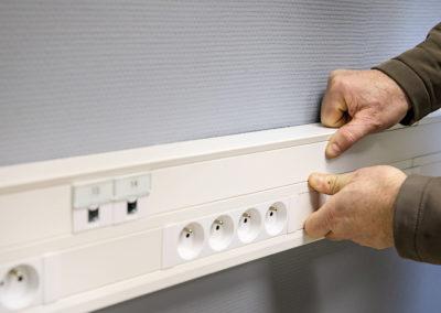 Courants faibles et câblage informatique