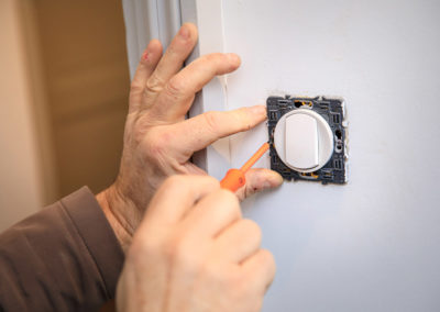 Installation d'un interrupteur